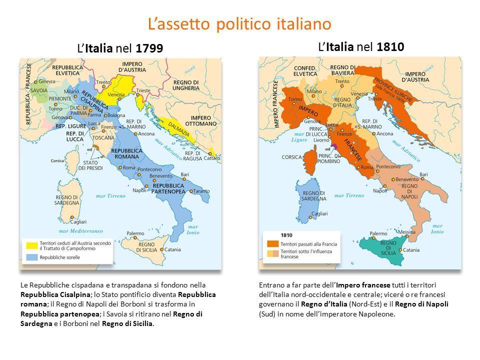 Cartina Italia 1810.L Eta Napoleonica Ppt Scaricare