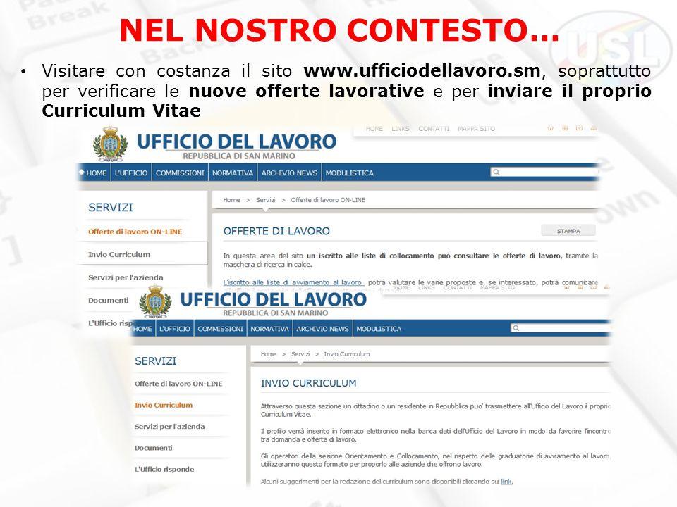 17 Aprile Presentazione elaborata da Unione Sammarinese dei ...